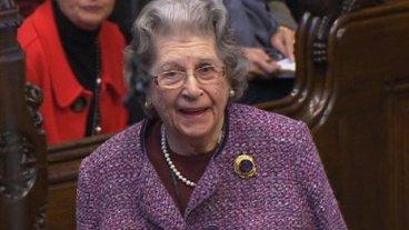 Lady Trumpington 91, Life Peer