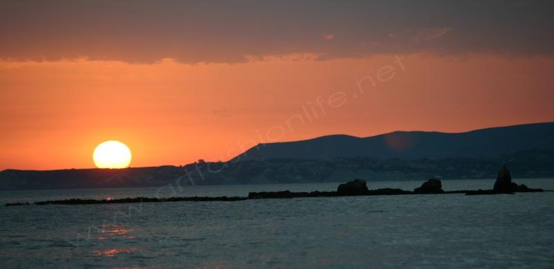 final sunset flat