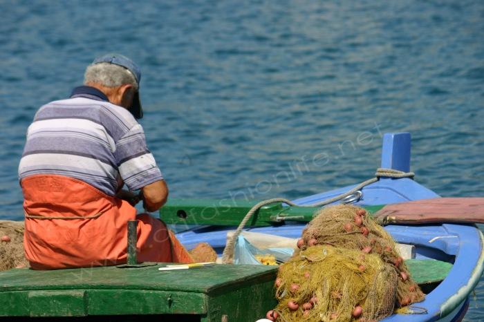 fisherman nets flat